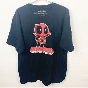 Marvel l Deadpool Mens Graphic T-shirt